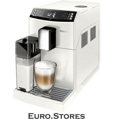PHILIPS EP 3362/00 3100 Series coffee machine piano lacquer white (ceramic disc
