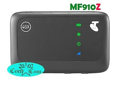 Brand New Unlocked ZTE MF90 4G Wifi Modem Telstra Optus Vodafone Black
