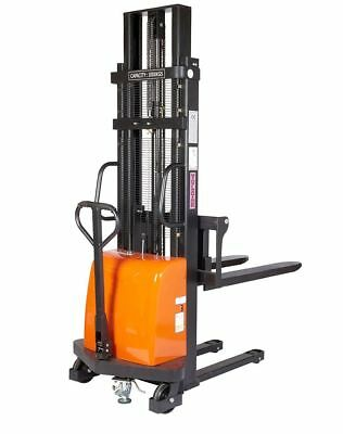 Vulcan Semi Electric Pallet Stacker - Fork Length 1100mm