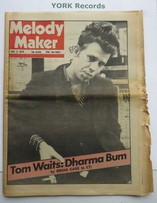 MELODY MAKER - May 5 1979 - Tom Waits / Whitesnake