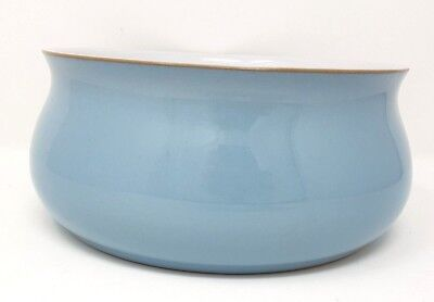 "Denby Colonial Blue - Seving/Salad/Fruit Bowl - 7.5"" Diameter - Very Good Cond."