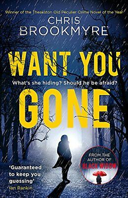 Want You Gone (Jack Parlabane) By Chris Brookmyre. 9780349141336