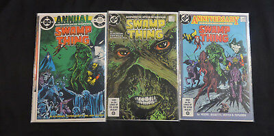 Swamp Thing Annual #2 49 50 Justice League Dark Lot!