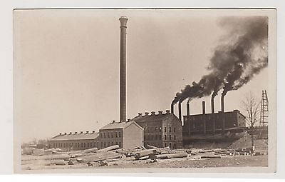 Vintage RPPC Postcard ~ Ohio Salt Company Chemical Plant Rittman Ohio ~ Used
