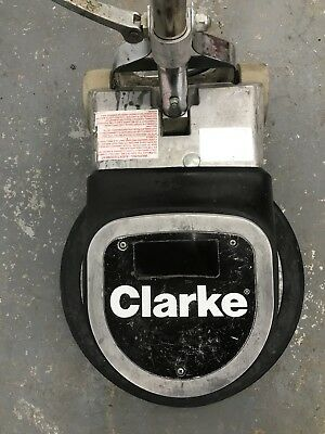 "Clarke FM-1700 17"" Floor Polisher Scrubber Sander Buffer Cleaning Machine Used"