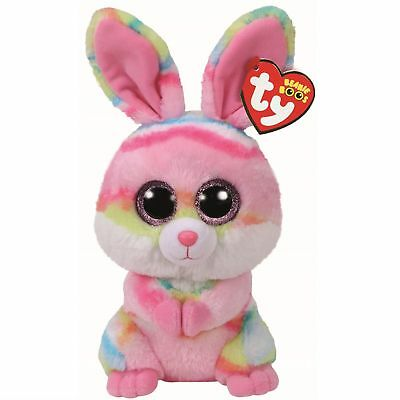Ty Beanie Babies Boos Easter 2018 Lollipop Rabbit Bunny Plush Soft Toy New Tags