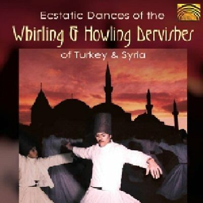 Various-Ecstatic Dances Of The Whirling & Howling Dervishes  CD NEU