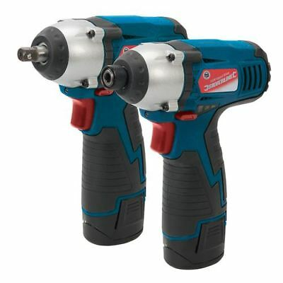 Silverline 459654 Silverstorm 10.8V Twin Pack Impact Wrench & Impact Driver