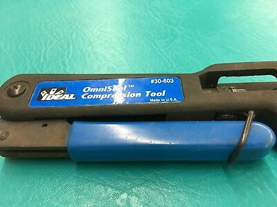 Ideal OmniSeal CompressionTool #30-603 Made In The U.S.A.