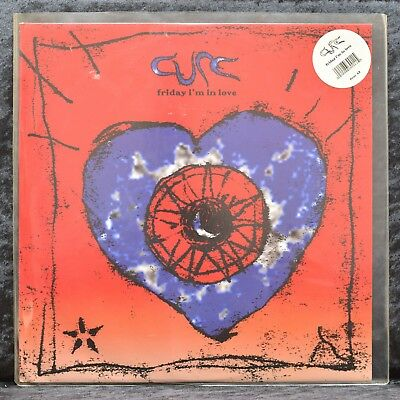 "The Cure - Friday I´m In Love - 12""-Maxi - Lila Vinyl - Limitiert - UK - FICSX42"