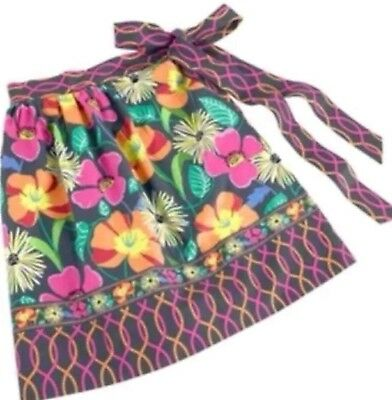 Vera Bradley Apron What's Cookin' Half Apron in Oven Gift Box Jazzy Blooms Color