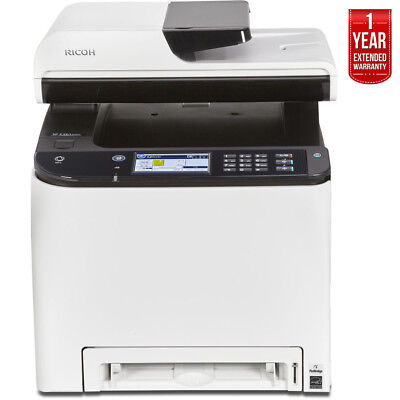Ricoh SP C261SFNw A4 Color Laser Multifunction Printer+ 1 Year Extended Warranty