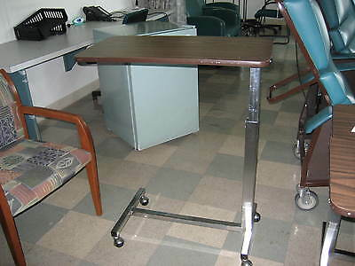hospital bed table.