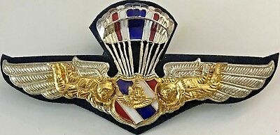 Thailand Airborne Jump Wings - 3 3/4 Inches #5864
