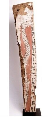 Ancient Egyptian Sarcophagus Wood Panel c.635 BC. Size 25 inches high x 5 1/2 in