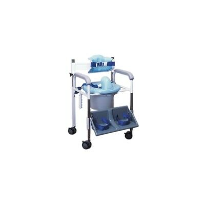Positioning commode system, standard back, small 45-2240