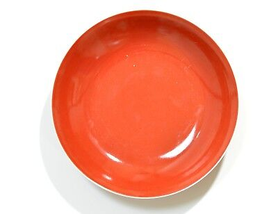 A Chinese Copper Red Porcelain Dish