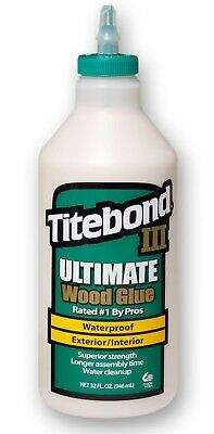 Titebond III Waterproof Wood Glue - 946ml (31floz) 101767