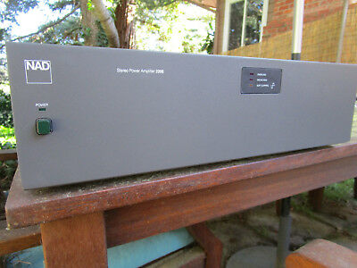 NAD 2200 POWER amp upgraded and serviced