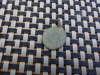 Authentic Byzantine Medieval Bronze Medallion Pendant 900-1100 Ad / Very Rare