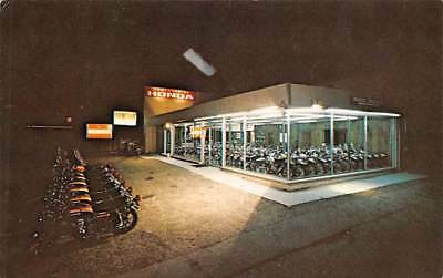 WEST CHESTER, PA, HONDA MOTORCYCLE DEALER ADV PC, VEHICLES & SHOW ROOM c. 1960'S