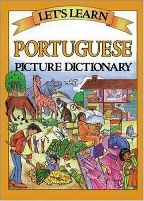 LETS LEARN: PORTUGUESE PICTURE DICTIONARY (Let's... by Sra/Mcgraw-Hill Paperback