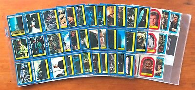 1983 Topps Return of the Jedi Series 2 - Set of 88 Cards + 22 Stickers