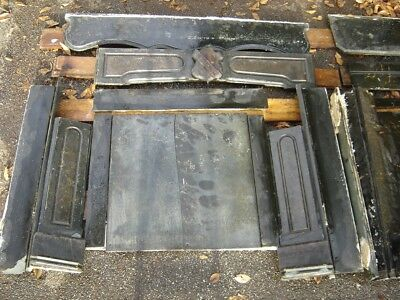 Antique Slate Fireplace Mantle Surround
