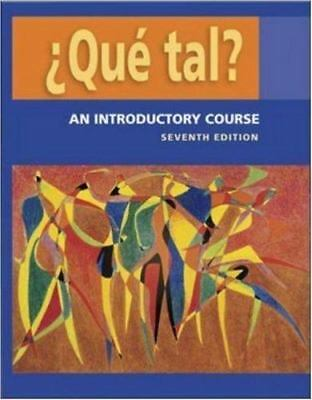 Que tal?:  An Introductory Course   Student Edition with Bind-in OLC passcode ca