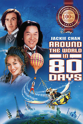 New Around The World In 80 Days Film Movie Original Cinema Print Premium Poster
