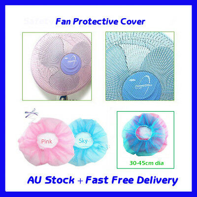 2pcs x Baby Finger Protector Safety Mesh Nets Shield Cover Fan Guard Dust Covers