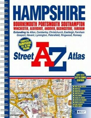 A-Z Hampshire County Atlas (Street Maps & At... by Geographers, a-Z Spiral bound