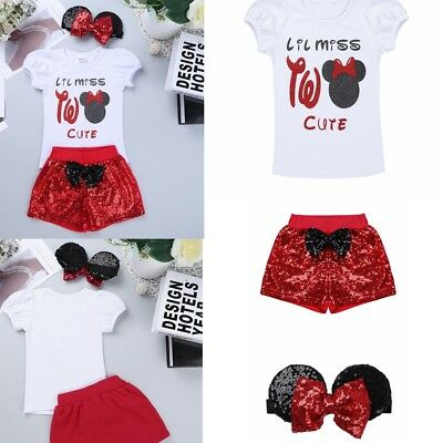Newborn Baby Girls Tops Romper Pants Leggings Headband Outfits Set Clothes