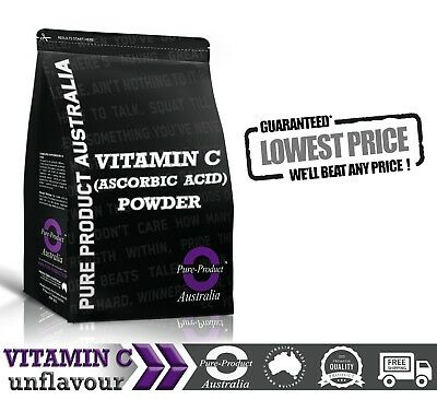 1KG PURE VITAMIN C ( 100% Ascorbic Acid USP ) POWDER Premium Quality
