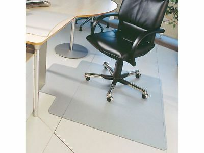 Staples Home Office Chair Mat Floor Protector Carpet Non Slip PVC 1150 x 1340mm