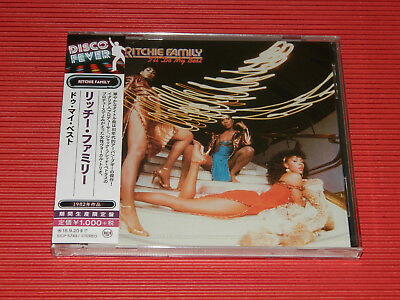 2018 Disco Fever 40 RITCHIE FAMILY I'll Do My Best   JAPAN CD