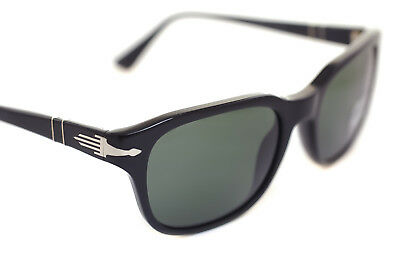 ec29860e67 PERSOL FILM NOIR PO3112S 95 31 53mm Men Medium Square Sunglasses BLACK GREY  case