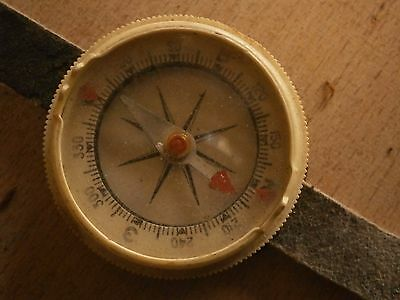 Antique Vintage Compass Setting Stick For Hand