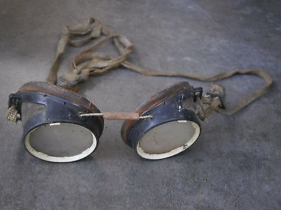 Old Rare Antique Vintage Soviet Aviator Pilot Glasses Goggles