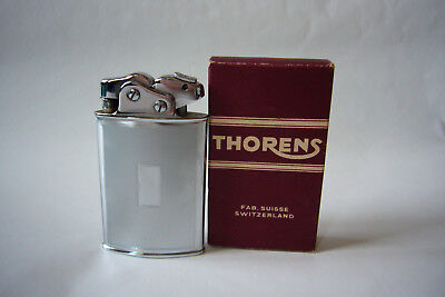 Beautiful old SWISS lighter (petrol) made by THORENS model SPORTS in own box