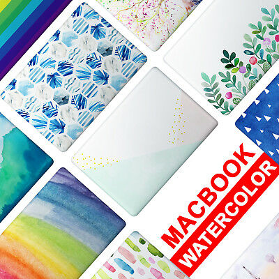Matte Hard Case Cover For Apple Macbook Air Pro 11 12 13 15 A2159 Watercolor