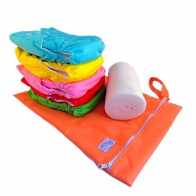 Starter Pack - Quality Best4Bubs MCN Reusable Modern Pocket Cloth Nappies