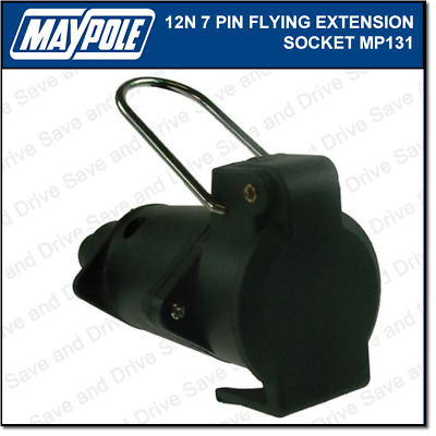 Maypole 12N Flying Socket Extension Towing Trailer Connector & Electrics MP131