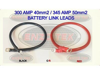 CAR VAN HGV TRUCK BATTERY EARTH EARTHING NEGATIVE LEAD CABLE WIRE RED