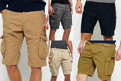 New Mens Superdry Shorts Selection - Various Styles & Colours 0703