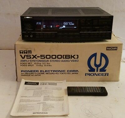Pioneer VSX-5000 Audio / Video Stereo Receiver with Manual & Remote