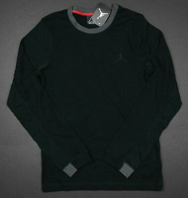 30fe10a32f2c3f Nike Men s Size Small Jordan All Day Thermal Long Sleeve Shirt 657505 010  Nwt