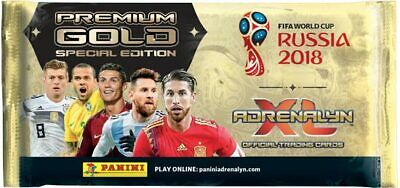 FIFA World Cup Adrenalyn XL 2018 - 1 Premium Gold Pack