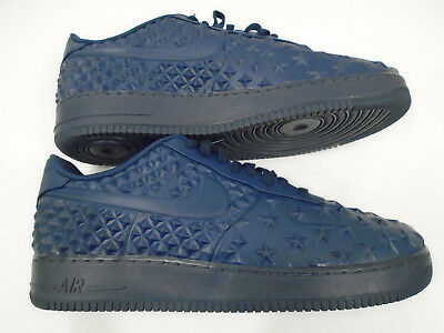 outlet store c4f69 bf565 NEW Nike Air Force 1 LV8 VT Mens Sz 17 Midnight Navy Independence Day  789104-