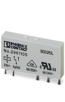 Phoenix Contact Single relay - REL-MR- 24DC/21 - 2961105 - Lot of 20